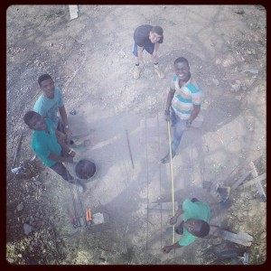 Our-volunteer-Liam-and-the-building-team-here-in-Abenta-Ghana-West-Africa-make-reinforcement-for-the