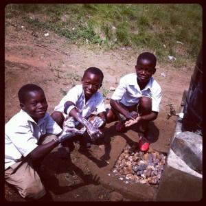 Pupils-of-Kukua-enjoying-hand-washing-as-a-way-of-life
