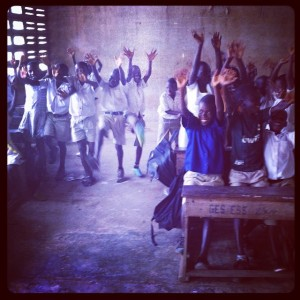 Children-of-Kukua-enjoying-themselves-after-hand-washing-exercise