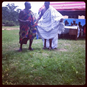 Two-elders-of-Abenta-doing-agbadza-dance-during-inauguration-of-girl-power-project-at-Abenta